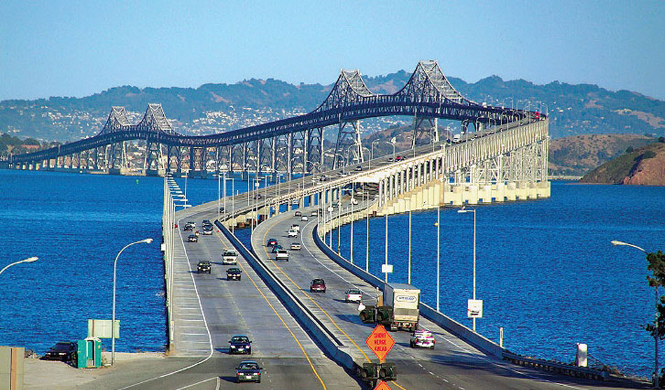 Richmond-San Rafael Bridge (Richmond, California USA)