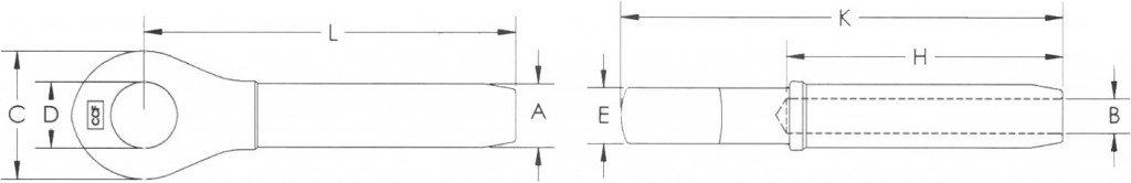 closed-swage-socket-diagram